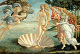 The Birth of Venus, c.1485 Premium Giclee Print by Sandro Botticelli