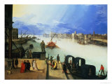 View of Venice Giclee Print by Louis de Caullery