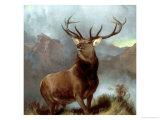 Dalens monark, 1851 Giclée-tryk af Edwin Henry Landseer
