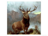 Monarch of the Glen, 1851 Giclee-vedos tekijänä Edwin Henry Landseer