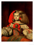 Portrait of the Infanta Margarita Giclee Print by Diego Velázquez