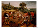 Summer Giclee Print by Pieter Brueghel the Younger