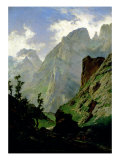 Mountains in Europe, 1876 Premium Giclee Print by Carlos de Haes