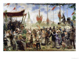 The 14th July 1880, 1882 Giclee Print by Alfred Roll