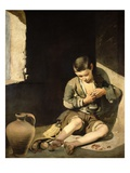 The Young Beggar, C.1650 (Oil on Canvas) Giclee Print by Bartolome Esteban Murillo