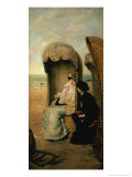 Confidences on the Beach, circa 1883 Giclee Print by Vincente Gonzalez Palmaroli