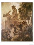 Ecce Homo, circa 1848-52 Giclee Print by Honore Daumier