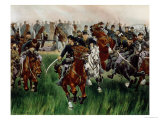 The Cavalry Giclee Print by W. T. Trego