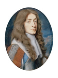 Miniature of James II as the Duke of York, 1661 Giclee Print by Samuel Cooper