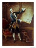 The Comte De Vaudreuil, 1758 Giclee Print by Francois Hubert Drouais