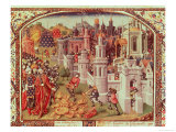 The Looting of Jerusalem after the Capture by the Christians in 1099 Giclee Print by Jean de Courcy