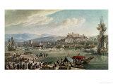 Trieste Harbour, 1802 Giclee Print by Louis-Francois Cassas