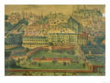 A View of the Royal Palace, Brussels Giclee Print