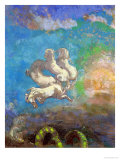 The Chariot of Apollo, circa 1905-14 Giclee Print by Odilon Redon