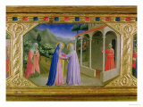 Visitation, from the Predella of the Annunciation Alterpiece, c. 1430-32 (Tempera & Gold on Panel) Giclee Print by  Fra Angelico