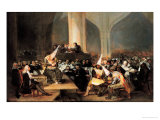 Court of the Inquisition Giclee Print by Francisco de Goya