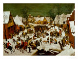 Massacre of the Innocents, 1565-66 Giclee Print by Pieter Bruegel the Elder