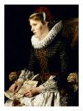 Portrait of a Noble Woman Premium Giclee Print by Paula Monje