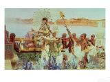 A Fiesta in a Botanical Garden, 1775 Giclee Print by Luis Paret y Alcazar