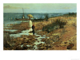 Moyes Bay, Beaumaris, Victoria Giclee Print by Frederick McCubbin