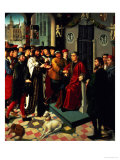 The Judgement of Cambyses, 1498 (One of Two Panels) Giclee Print by Gerard David