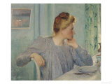 Portrait of a Woman, 1900 Giclee Print by Emile Claus
