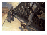 Le Pont De L&#39;Europe, 1876 Giclee Print by Gustave Caillebotte