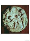Tondo Taddei, Circular Stone Sculptured Panel (1475-1564) Giclee Print by  Michelangelo Buonarroti