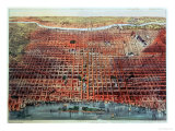 General View of Philadelphia, 1875 Giclee Print by  Currier & Ives