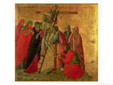 Maesta: Descent from the Cross, 1308-11 Giclee Print by  Duccio di Buoninsegna
