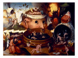 Tondal&#39;s Vision Giclee Print by Hieronymus Bosch