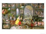 Allegory of Painting Giclee Print by Jan Brueghel the Younger