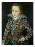 Portrait of a Young Boy, Aged Five Giclee Print by Robert Peake