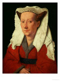 Portrait of Margaret Van Eyck, 1439 Giclee Print by  Jan van Eyck