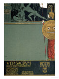Cover of Ver Sacrum, the Journal of the Viennese Secession, of Theseus and the Minotaur Giclee Print by Gustav Klimt