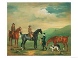 The 4th Lord Craven Coursing at Ashdown Park Giclee Print by James Seymour