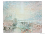 View of Lyons Giclee Print by William Turner
