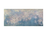 The Waterlilies, the Clouds (Central Section) 1915-26 Giclee Print by Claude Monet