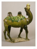 Pottery Chinese Wailing Camel, T'Ang Dynasty, 8th Century Pottery Wailing Camel, 8th Century Giclee Print