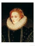 Portrait of Queen Elizabeth I (1533-1603) Giclee Print by Marcus Gheeraerts