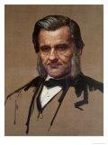 Portrait of Thomas Henry Huxley (1825-95) Giclee Print by Alphonse Legros