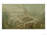 The Battle of Maxen, November 1759 Giclee Print by Franz Paul Findenigg