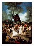 The Burial of the Sardine (Corpus Christi Festival on Ash Wednesday) circa 1812-19 Premium Giclee Print by Francisco de Goya