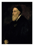Self Portrait, c.1560 Giclee Print by  Titian