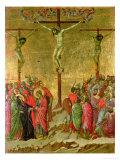 Korsfæstelse Giclée-tryk af  Duccio di Buoninsegna