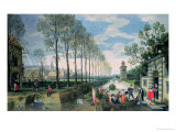 The Four Seasons: Spring Giclée-Druck von Sebastian Vrancx