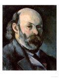 Self Portrait, circa 1879-85 Giclee Print by Paul Cézanne