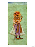 Portrait of Shah Jahan (1592-1666), 1631, Mughal Giclee Print