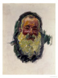 Self Portrait, 1917 Premium Giclee Print by Claude Monet