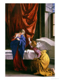 Annunciation Giclee Print by Orazio Gentileschi